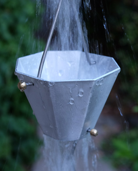 best price 'Gina K' rain chain in aluminum #4420