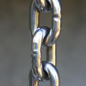 Stainless Steel rain chains #SS-01 through SS-04