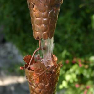 best price Grape & Leaf copper rain chain #2900