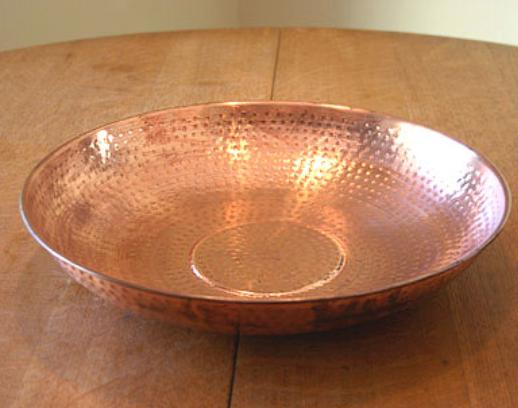 best price Hammered Copper Dish #3145