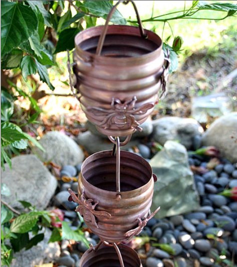 best price Honeybee & Hive Copper Rain Chain #2980