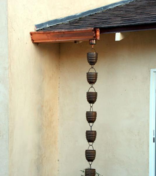 best price #MG1 Mini Gutter™ rain chain installation system