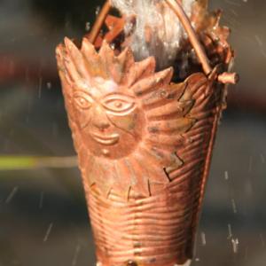 best price Sun Cups ™ copper cup rain chain #2910